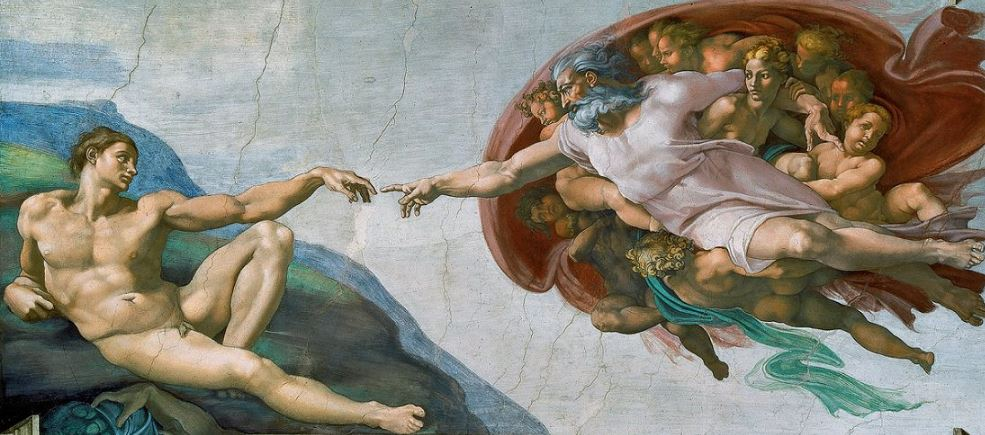 The Creation of Adam Top Most Famous Paintings of All Time 2019
