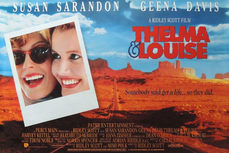 thelma and louise is a feminist film essay Numerous critics and writers have remarked on the feminist overtones of thelma & louise film critic b ruby rich  in her essay the daughters of thelma and louise.