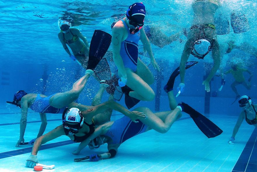 underwater hockey, Top 10 Most Bizarre Sports Actually Exist 2017