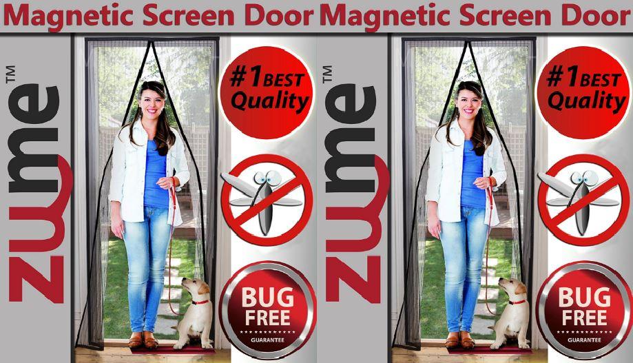 Zume Magnetic Screen Door