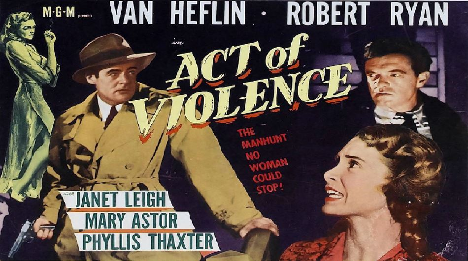 Act of Violence Famous Movies By Janet Leigh 2020