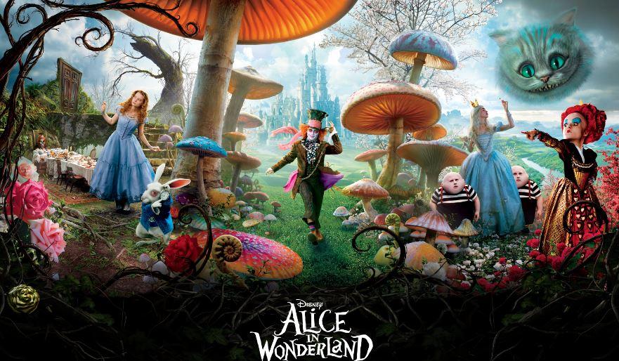 Alice in Wonderland Top Ten Movies By Helena Bonham 2017
