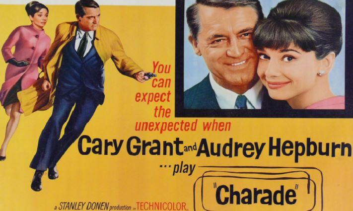 Charade Top Ten Movies By Audrey Hepburn 2017