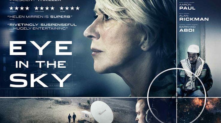 Eye In the Sky Top Ten Movies By Helen Mirren 2017
