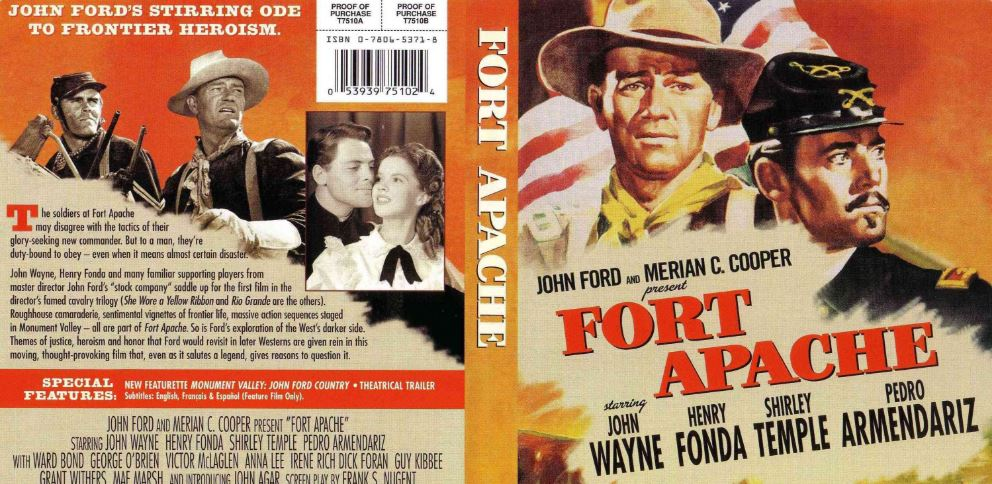 Fort Apache Top Ten Movies By John Wayne 2017
