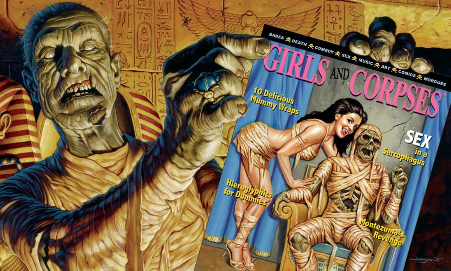 Girls and Corpses Top Famous Weirdest Magazines That Shouldn't Exist 2018