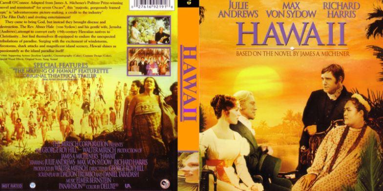 Hawaii Top Ten Movies By Julie Andrews 2017
