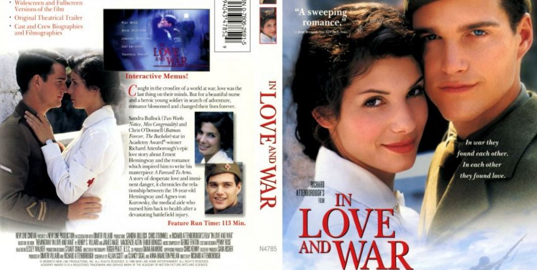 In Love and War Top Most Popular Movies By Sandra Bullock 2018
