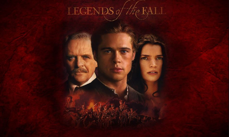 Legends of the Fall Top 10 Movies By Brad Pitt