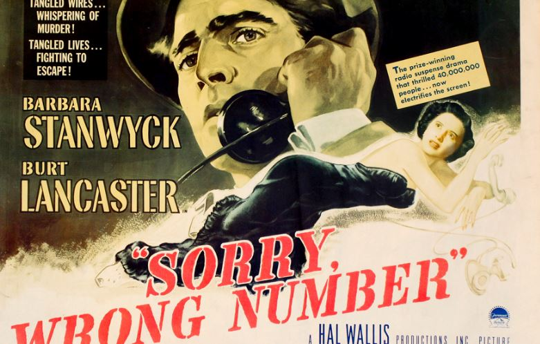 Sorry, Wrong Number Top Most Famous Movies By Barbara Stanwyck of All Time 2019