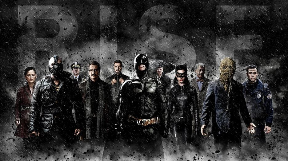 The Dark Knight Rises Most Movies By Morgan Freeman 2018