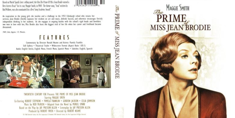 The Prime of Miss Jean Brodie Top Ten Movies By Maggie Smith