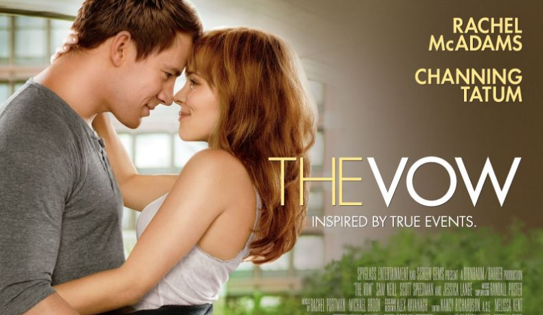 The Vow Top Ten Movies By Jesica Lange