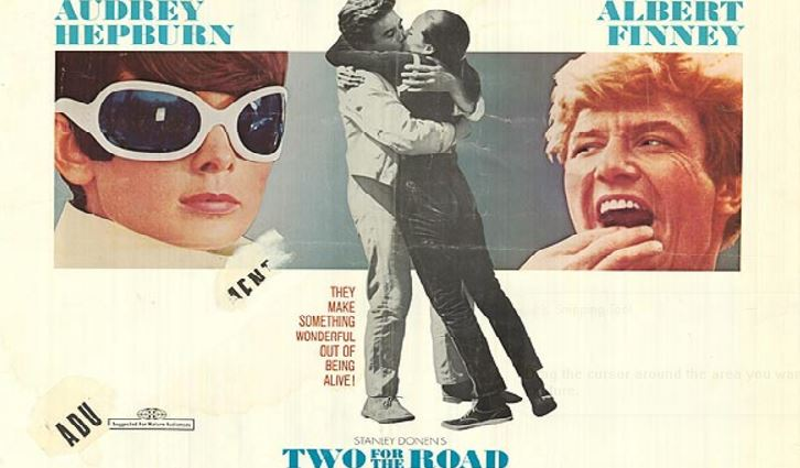 Two For The Road Top Ten Movies By Audrey Hepburn