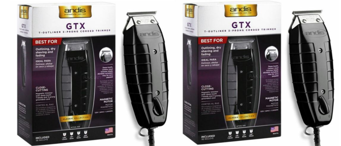 ANDIS 4775 GTX T TRIMMER Top Famous Beard Trimmers to Buy in 2018