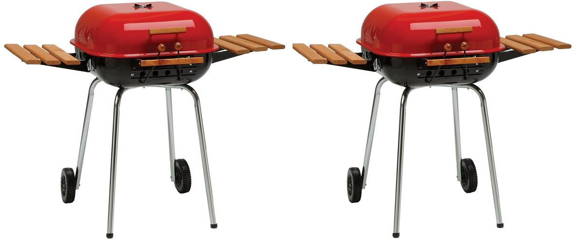 Americana the Swinger Top Best Charcoal Grills in 2017