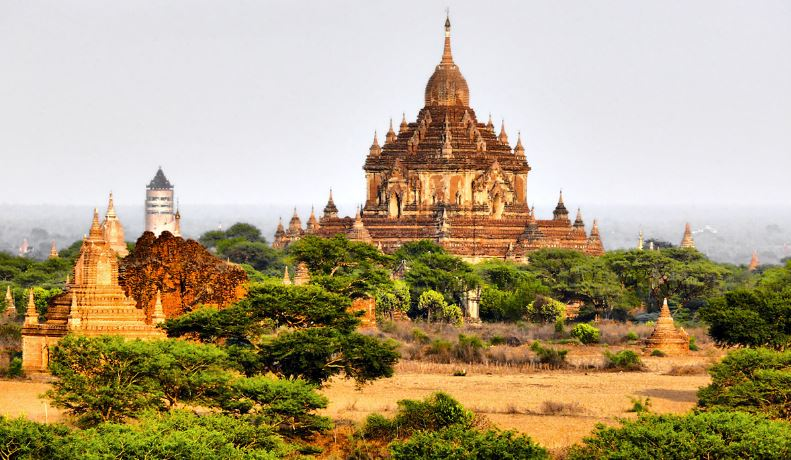 Bagan Temples and pagodas , Myanmar