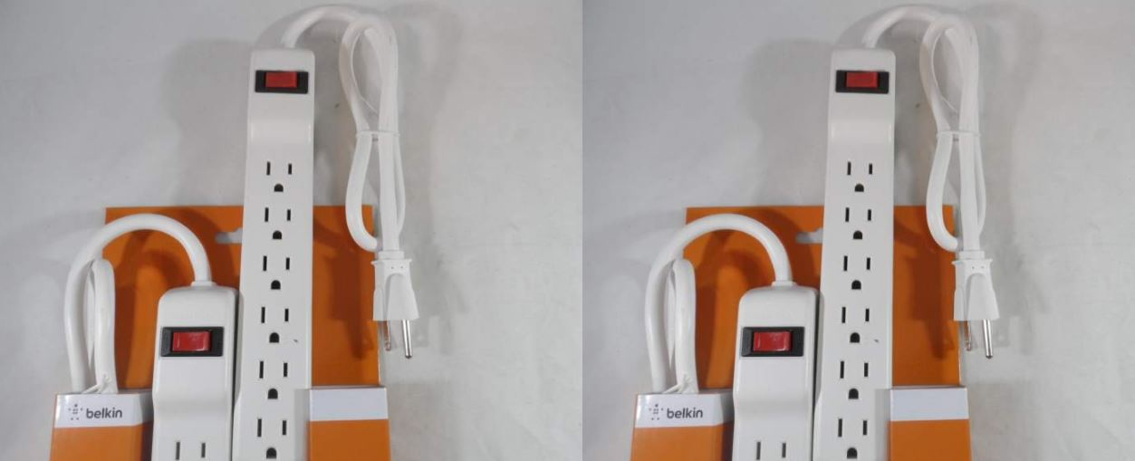 Belkin 6-Outlet Surge Protector with 2-Foot Cord