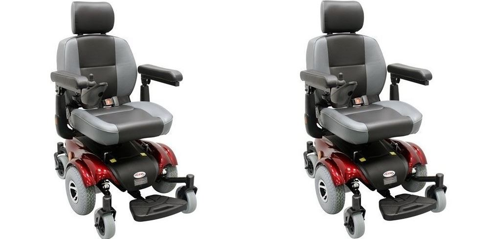 Compact Mid-Wheel Drive Power Chair Top Most Famous Electric Wheelchairs in Reviews 2018