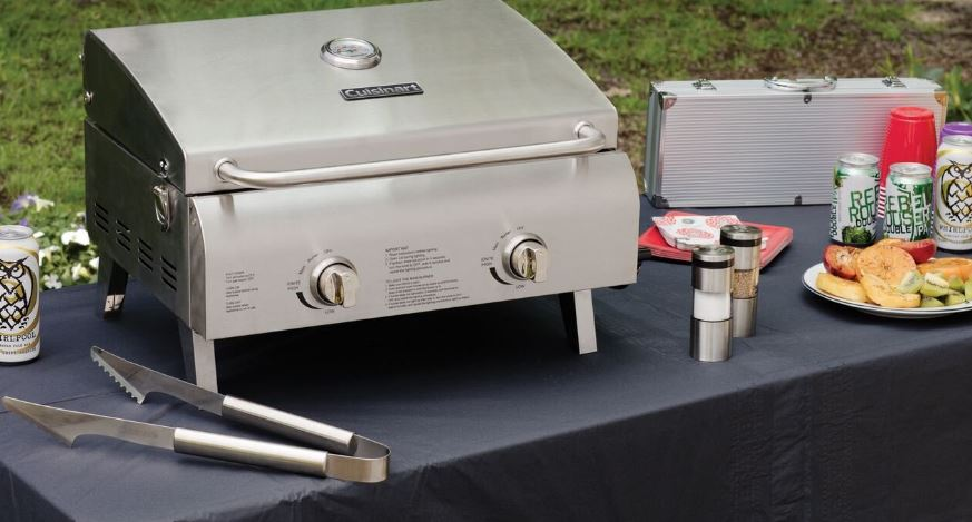 Cuisinart CGG-3-6 Chef's Style Stainless Tabletop Grill