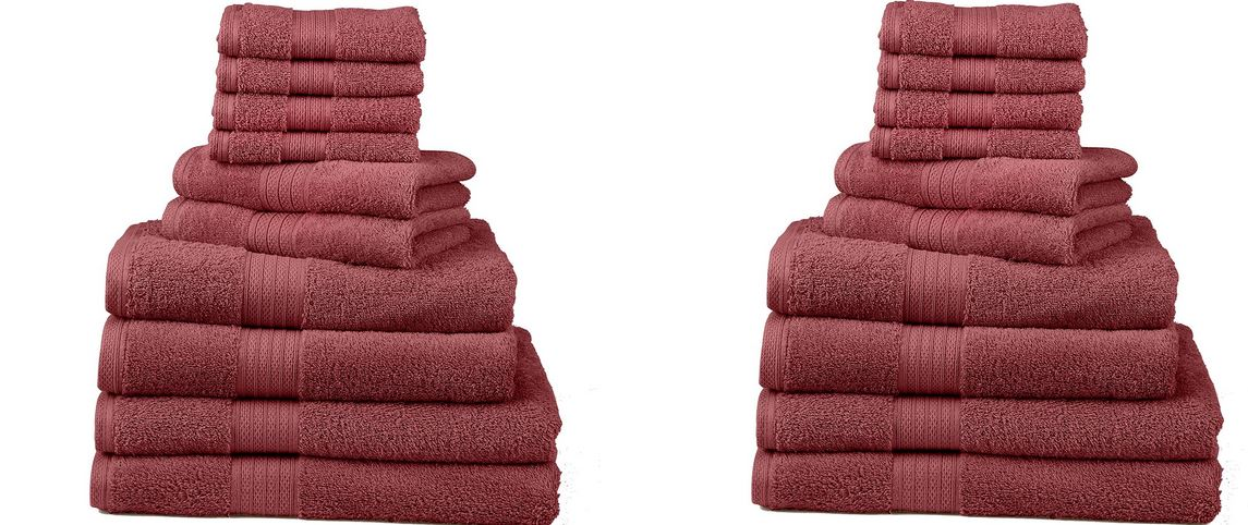 Divatex Home Fashion Deluxe Towel Set