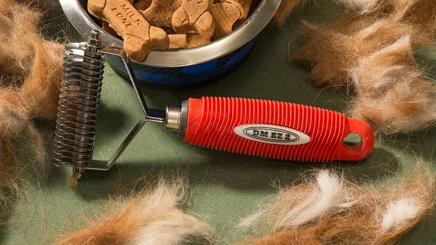 Easy Pet Grooming Undercoat Rake DE-Shedding Tool by DM EZ 2 Top Popular Dog Groomers in 2019