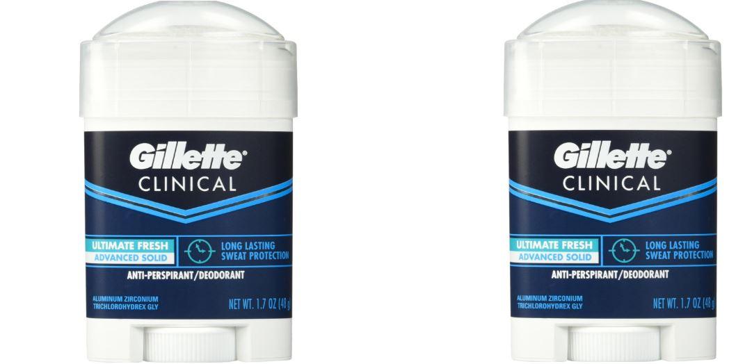 Gillette Clinical Strength Antiperspirant Deodorant
