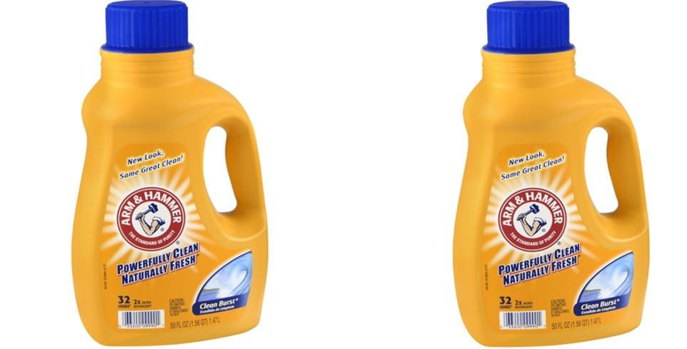 Hammer and arm Laundry Detergent