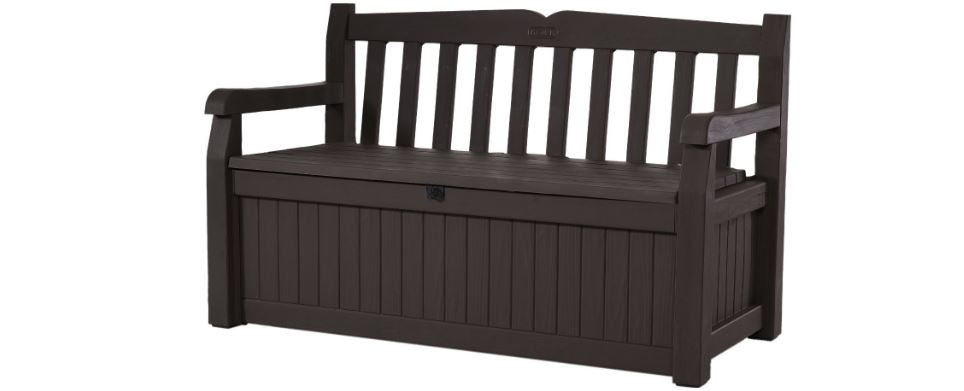 Keter Eden 50 Top Popular Outdoor Benches Review in 2018
