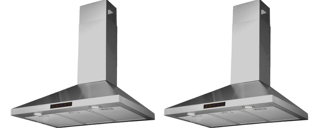 Kitchen Bath Collection STL90-LED Chimney Hood