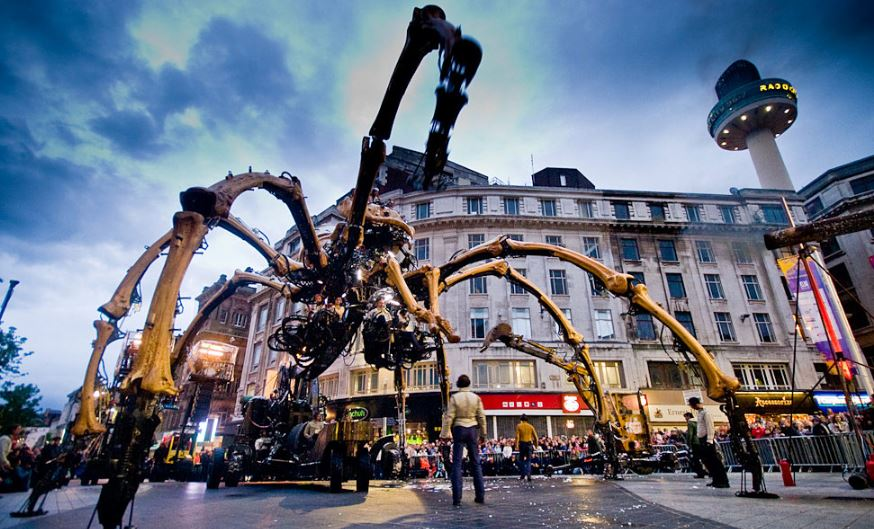 La Machine Spider Robot