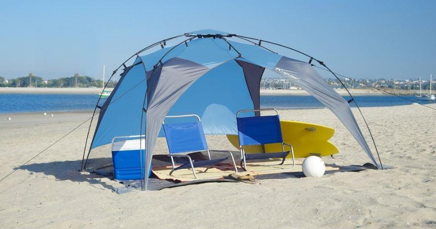 Lightspeed Outdoor Beach Canopy Tent
