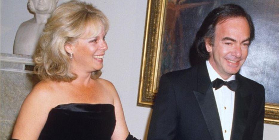 Neil Diamond and Marcia Murphey