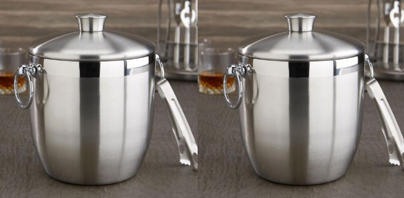 Oggi Stainless Steel Ice Bucket