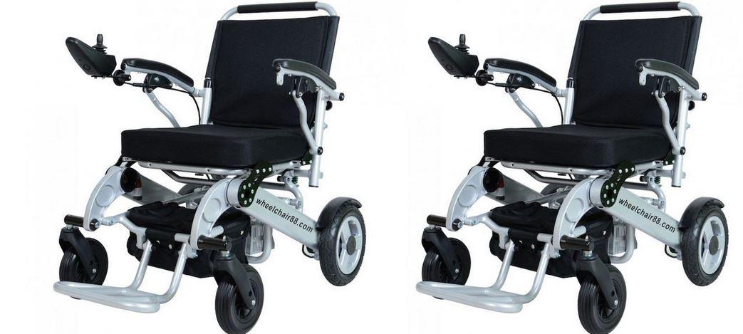Original Foldawheel Electric Wheelchair