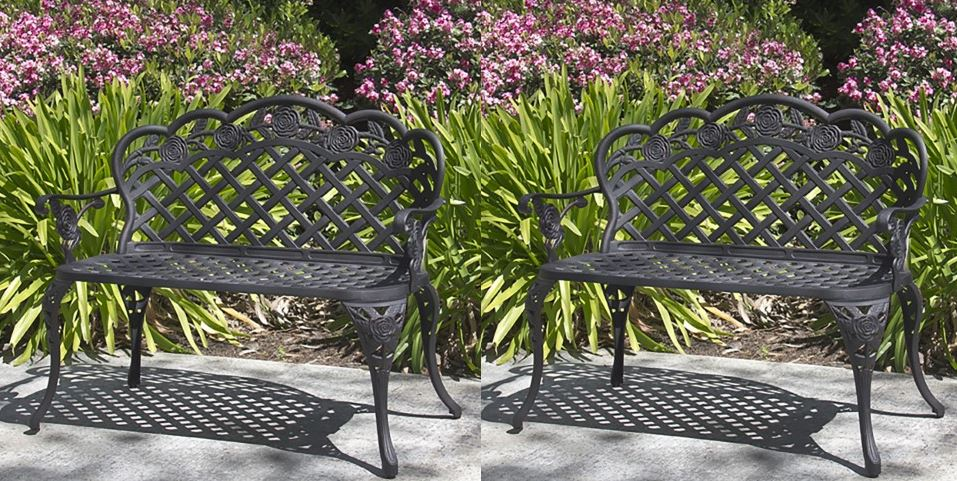 Patio Garden Bench by best Choice products