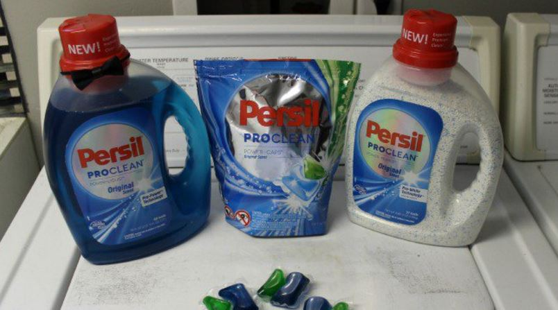 Persil ProClean Power-Caps Laundry Detergent Top Popular Smelling Laundry Detergents Reviews in 2018