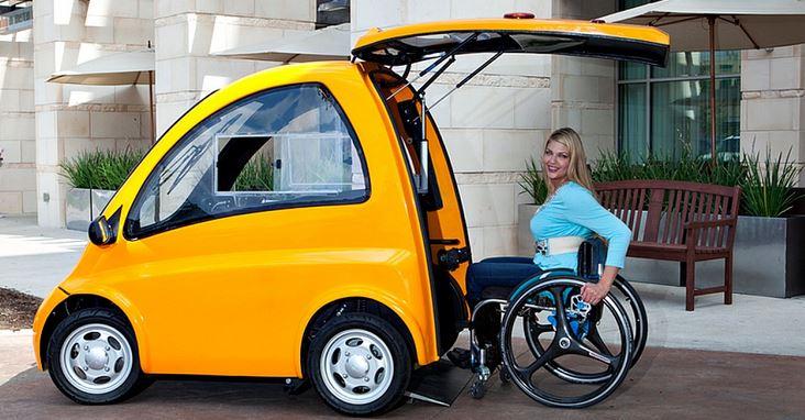 Smart Car Electric Wheelchair
