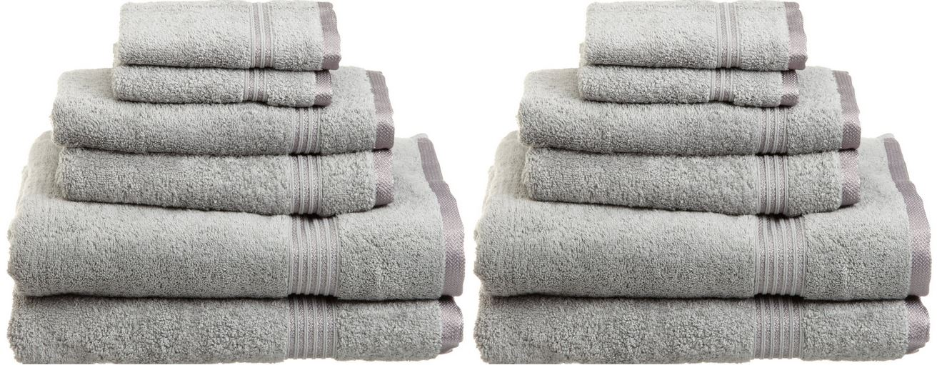 Superior Egyptian cotton 6 Piece Towel Set