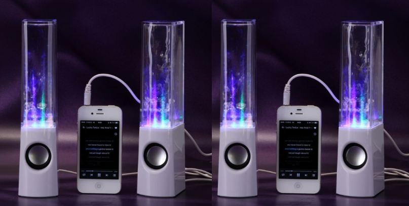 The LED Concepts Illuminated Dancing Water Speakers