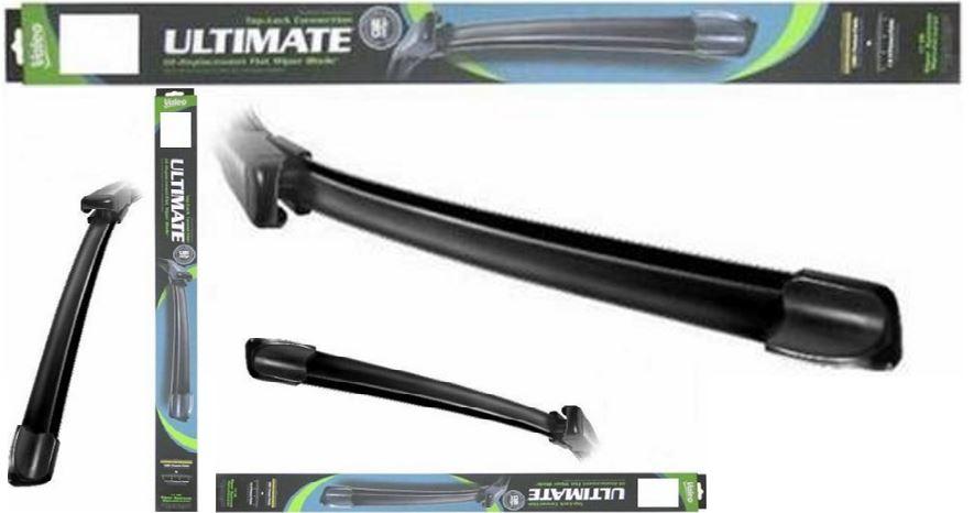 The Valeo 900225-B Frameless Ultimate 22-Inch All-Season Wiper Blades