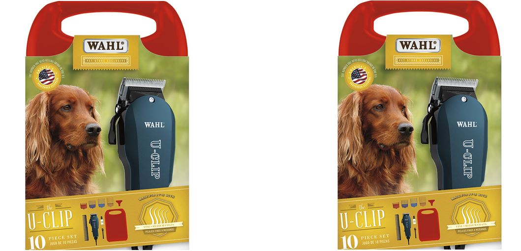 U-Clip Pro Home-Pet Grooming Kit from Wahl Professional Animal