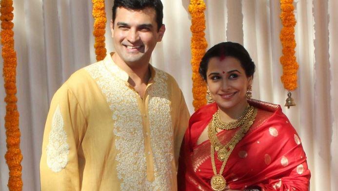 Vidya Balan & Siddharth Roy Kapoor