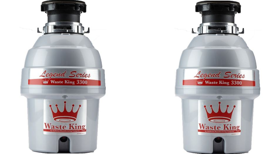 Waste King Legend Series 3-4 HP Continuous Feed Operation Garbage Disposer - (L-3300) Household Garbage