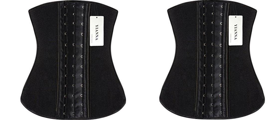 YIANNA Women's Latex Sport Girdle waist Training Corset Waist Shaper