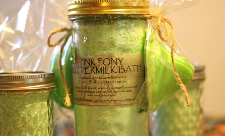 Bathe in Buttermilk