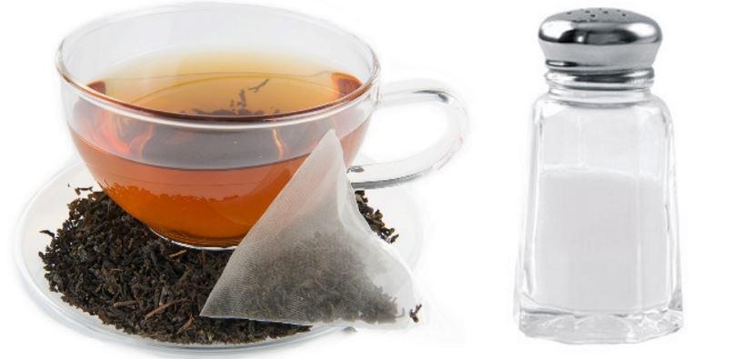 Hot Tea and Salt Tablet