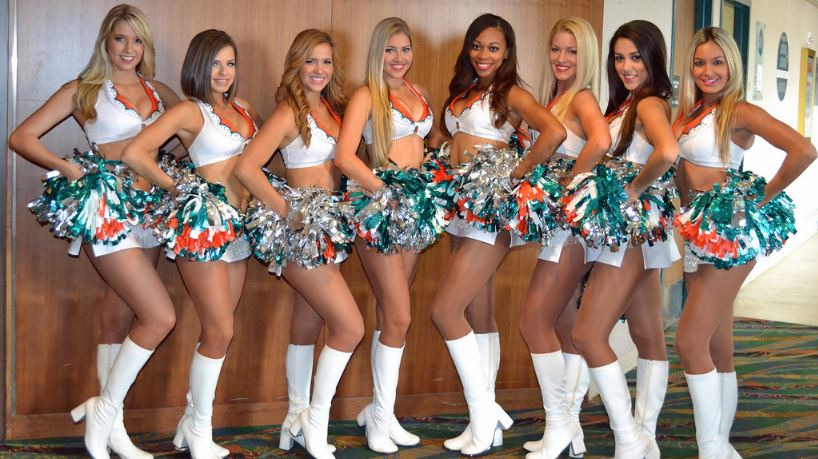Most Popular Cheerleading Squads